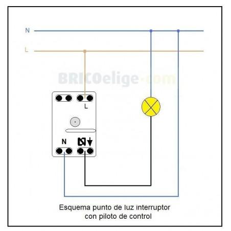 Interruptor con Piloto de Control 8101.5 Niessen Sky