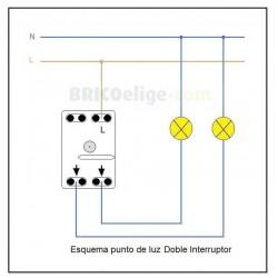 Doble Interruptor 8111 Niessen Sky