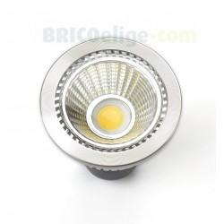 Bombilla de Led 230 V. Tipo Cob 7W. Tono de Luz Cálida 540 Lúmenes Regulable