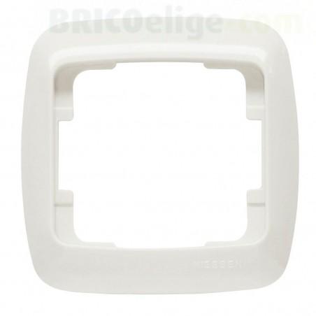 Placa Blanca 1 Ventana Niessen Arco Básico 8271.1 BA