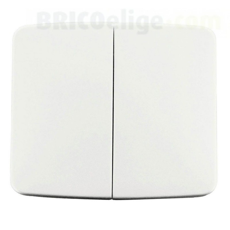 Tecla Doble Interruptor Niessen Arco Básico 8211 BA