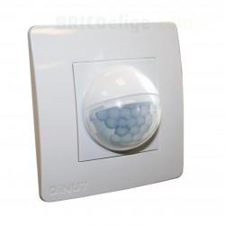 Detector LED de Presencia para Empotrar en caja de mecanismos
