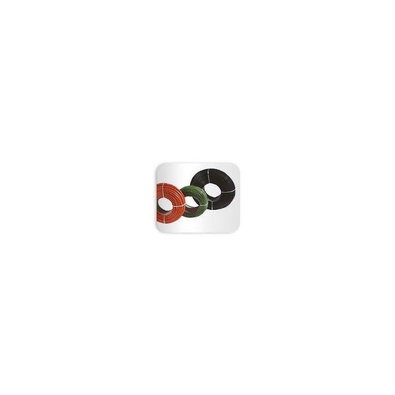 Tubo Electroaislante de PVC 6 mm Negro
