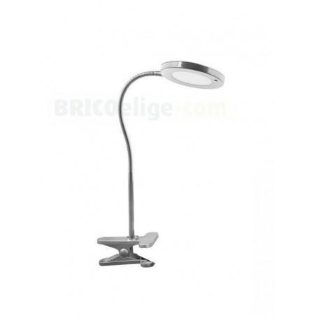 Lámpara LED de Lectura Flexo con soporte de Pinza 6W
