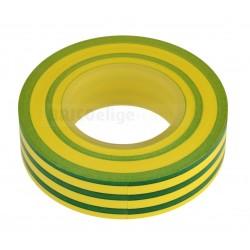 Cinta Aislante 20X19 Color Amarillo - Verde