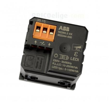 Regulador de LED niessen Zenit Antracita N2260.3 AN