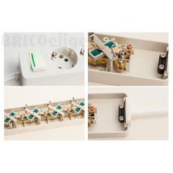 Base Múltiple 5 tomas 16A Sin Cable Con Interruptor ref.2525