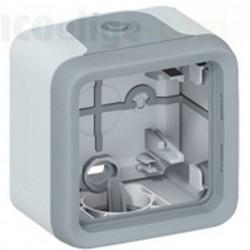 Caja Superficie 1 Elemento Gris con Membrana 69651