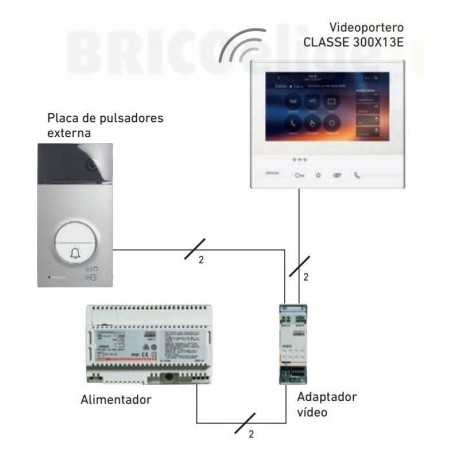 Kit Video Color Monitor Wi-fi Manos Libres 363911
