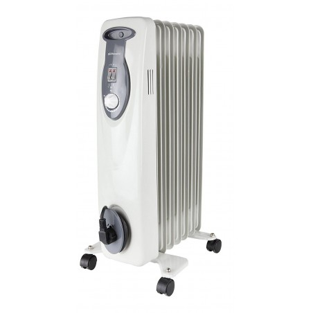 Radiador de Aceite con Ruedas 1500W 7 Elementos