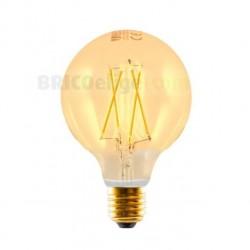 Bombilla Led Vintage Edison Gold Globo 3W 450427