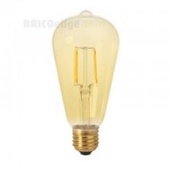 Bombillas Led Vintage Edison Gold Pera 2W 450227