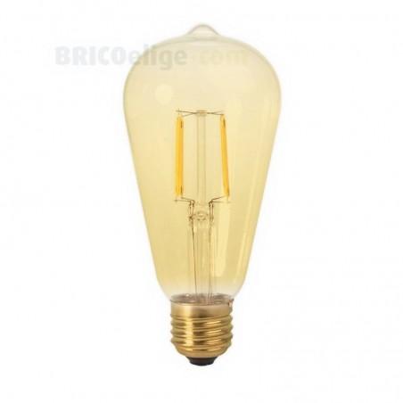 Bombilla Led Vintage Edison Gold Pera 2W 450227
