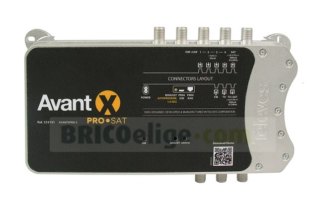 central programable Avant X PRO