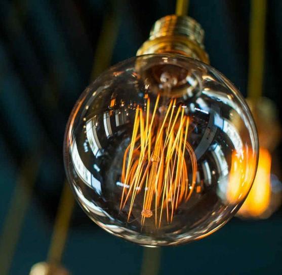 exito de las bombillas filamento led