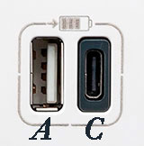 Valena Next USB A-C Bricoelige