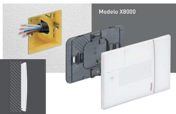 instalación termostato X8000
